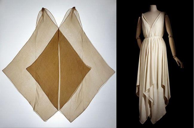 zero waste handkerchief dress patterns