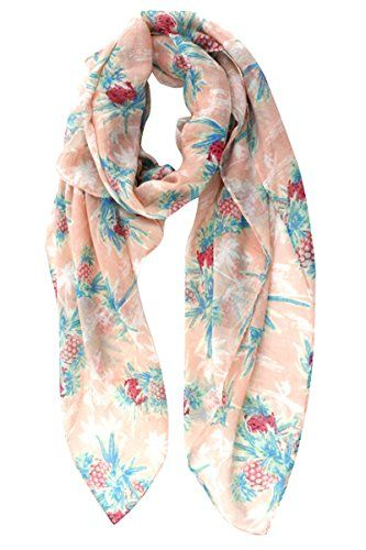 GERINLY Lightweight Summer Shawl Wrap: Pineapple Print Soft Cute Scarf (Pink) GERINLY http://www.amazon.com/dp/B00VT7R47K/ref=cm_sw_r_pi_dp_6RVPvb142Q5K7