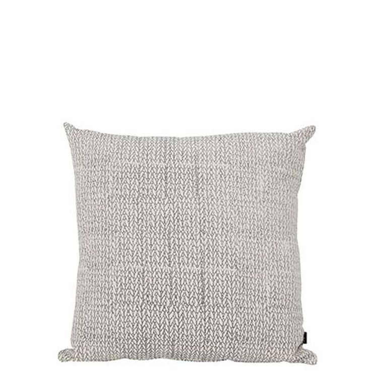 Knitted Print Cushion