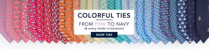 Aqua shorts Colorful ties from pink to navy (& every shade in between.) Shop Ties.