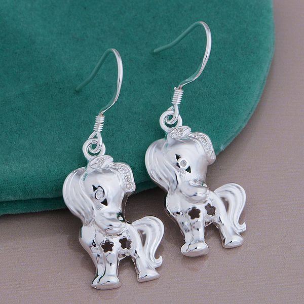Серьги серебряные серьги для всех уха бесплатная доставка серьги рождественские серьги brinco pequeno AR629