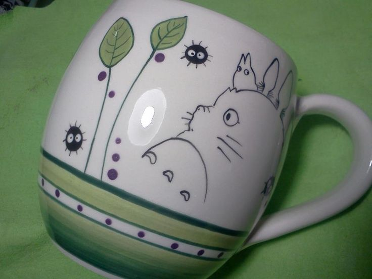 Totoro Mug - I so want that mug. :)