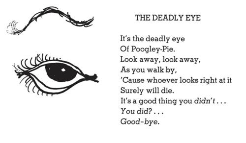 Shel Silverstein Death: The Deadly Eye - Shel Silverstein