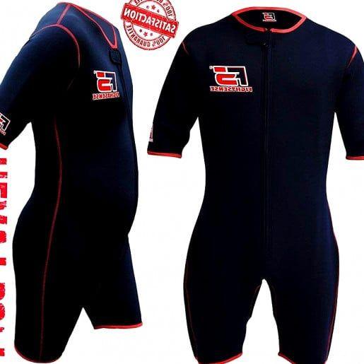 MMA Neoprene Sweat Sauna Suit Weight Loss Slimmimg Fitness Gym Exercise Training