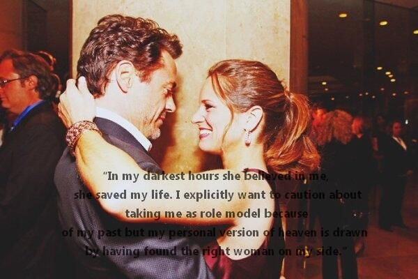 robert and susan downey.. they are such an amazing couple...<3 <3