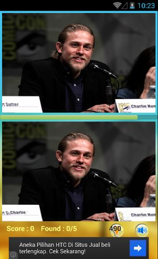 The Charlie Hunnam Find Games to train your smart brain. There are many different pictures angle of Charlie Hunnam Find Games for awesome fans like you. So, it's a very great find different game for everyone that love Charlie Hunnam. If you are fans of Charlie Hunnam, then this game is just for you.<p><br>Biography:<br>=======<br>Charlie Matthew Hunnam was born in Newcastle, England on April 10, 1980. At 18 years of age, he made a guest appearances in the popular TV series Byker Grove…