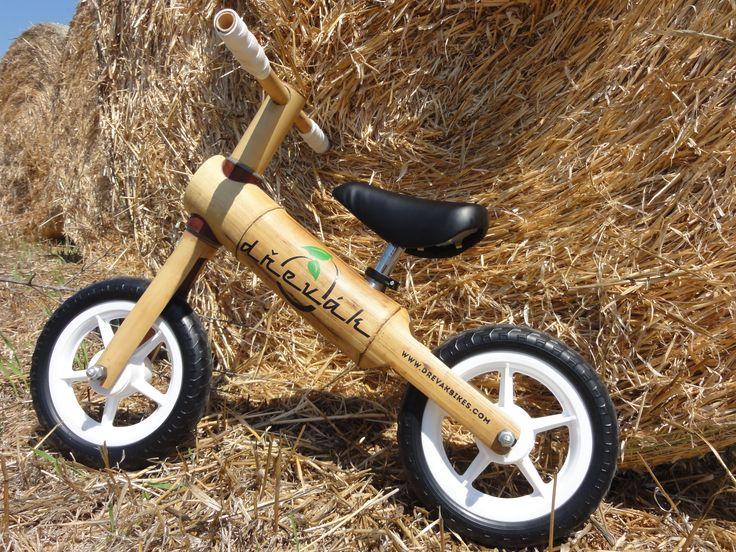 Dřevák Bambino balance bike