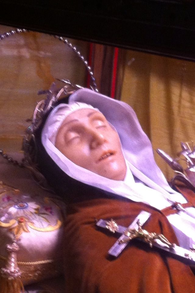St Veronica Giuliani | Incorruptible Saints | Pinterest