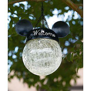 Disney Hanging Solar Light