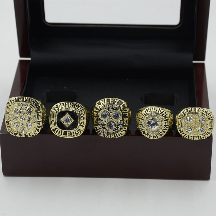 Now available on our store: Edmonton Oilers S... Check it out here! http://rshlenterprises.myshopify.com/products/edmonton-oilers-stanley-cup-championship-ring-set-1984-1985-1987-1988-1990-replica?utm_campaign=social_autopilot&utm_source=pin&utm_medium=pin #GemsandTrinkets #ThisJustIn