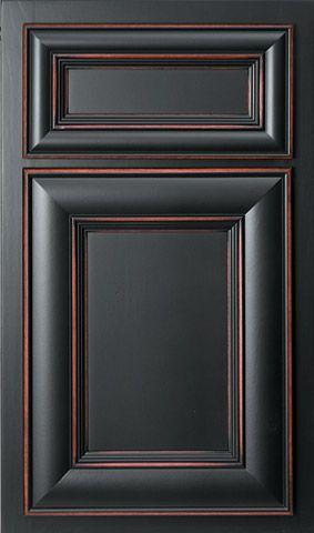 Old World Finish Cabinet Doors