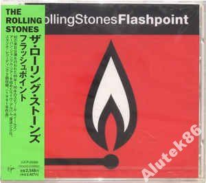 The Rolling Stones   Flashpoint JAPAN OBI