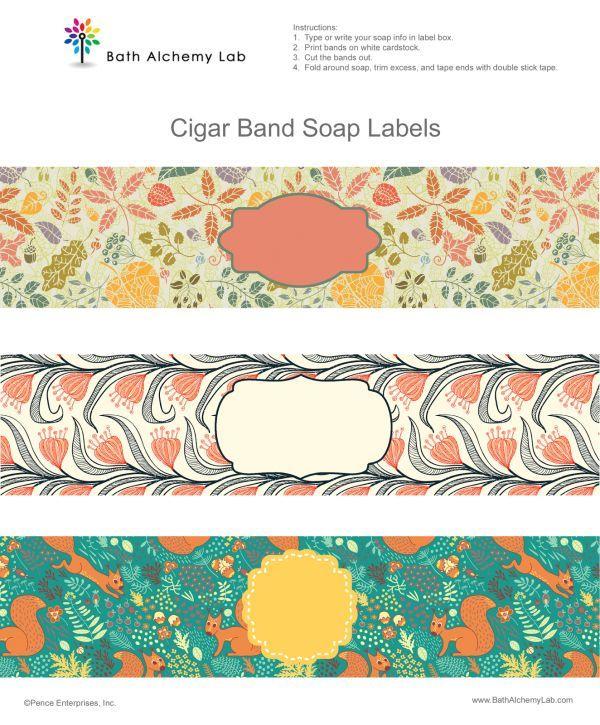 Free Printable Soap Wraps                                                       …