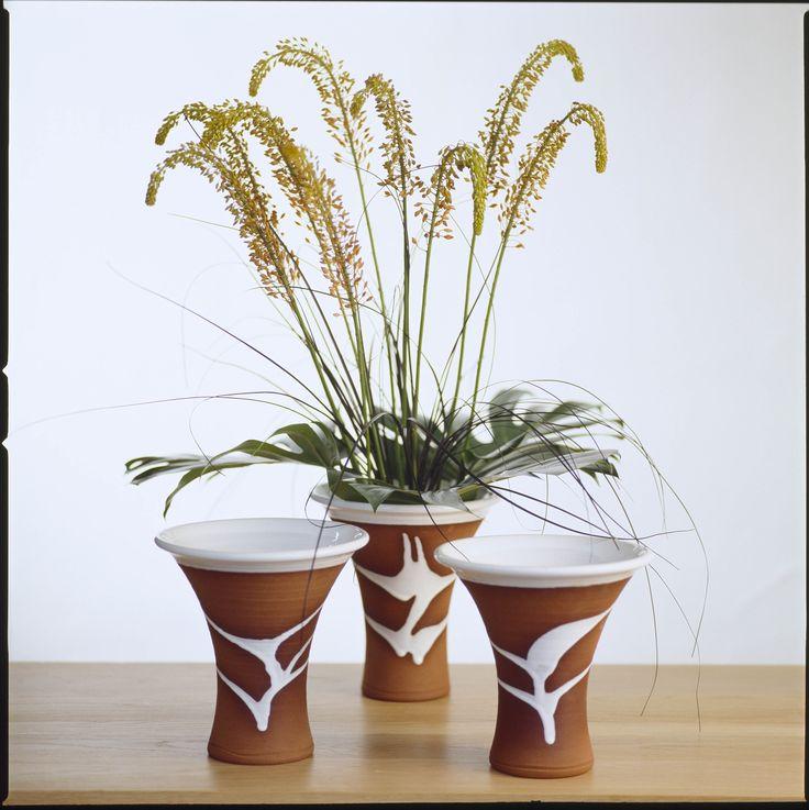 Classic range vases. Stephen Pearce Pottery.