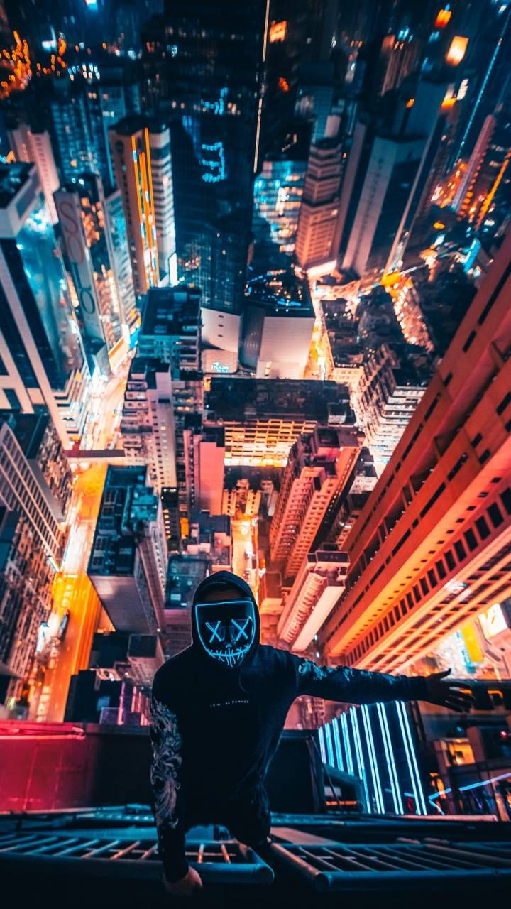 Download 4k Selfie Wallpaper By Illigal2alien B0 Free On Zedge Now Browse Millions Of Popular City Wallpape Neon Wallpaper Eyes Wallpaper City Wallpaper