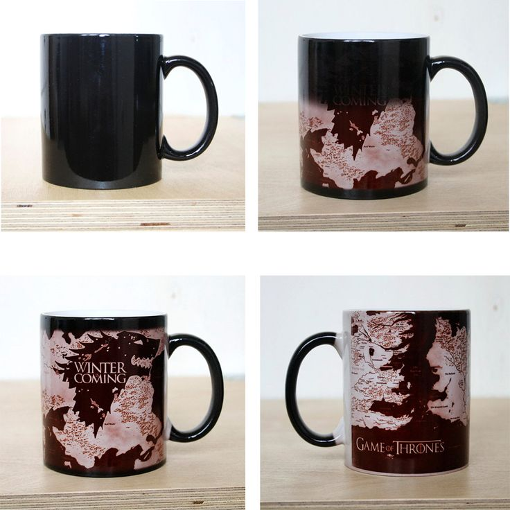 Game Of Thrones WINTER Is COMING Wolf Maps Discoloration Mug //Price: $20.00 & FREE Shipping //     #gots7