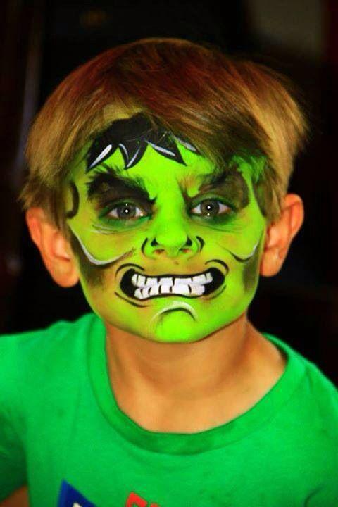 Face paint Fanatix    hulk   Face/Body Painting ...