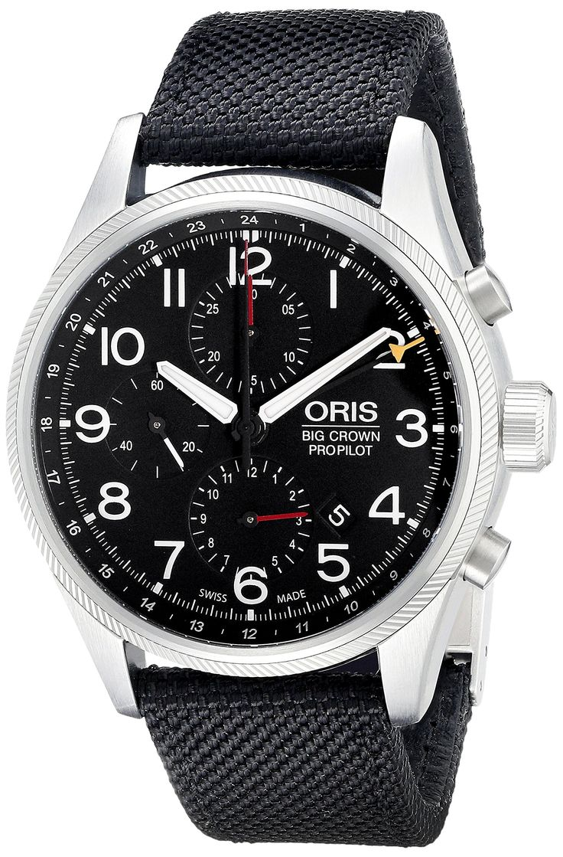 Oris Men's 67776994164LS1 Analog Display Swiss Automatic Black Watch