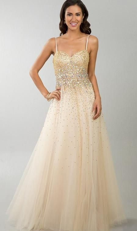 Long gold prom dress prom dresses