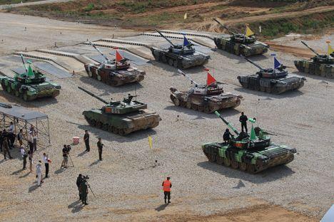 Lima Permainan Militer Terbaik Rusia