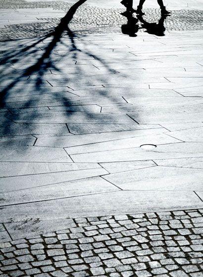 Mix of pavement