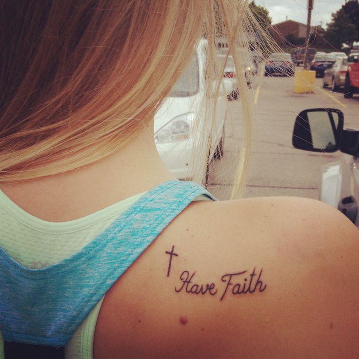 my new have #faith #tattoo :)