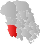 The Fyresdal municipality in Telemark county, Norway is part of the traditional region of Vest-Telemark. The municipality administrative center is the village of Moland. The municipality of Moland was established on 1 January 1838. 1879 the name was changed to Fyresdal which is Pine Tree Valley. Website: www.fyresdal.kommune.no.
