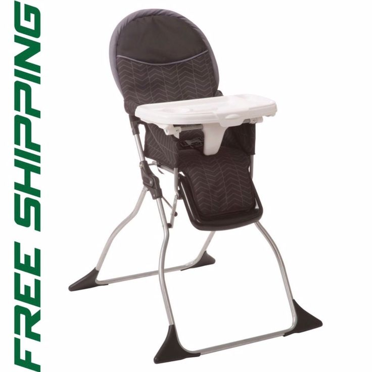 Cosco Simple Fold Deluxe High Chair in Black Arrows #Cosco