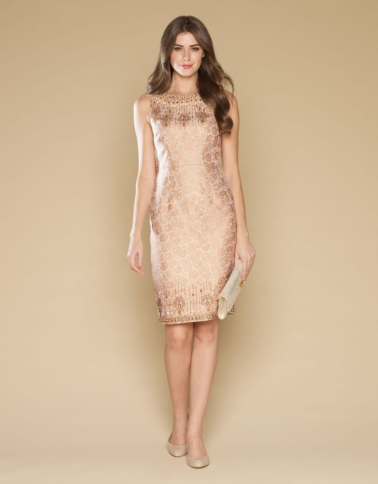 Geneveive Jacquard Dress by Monsoon. For those warm summer evenings out on holiday!