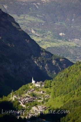 COVEYRAND VILLAGE, VAL DI RHEME, VAL D'AOSTE, ITALIE