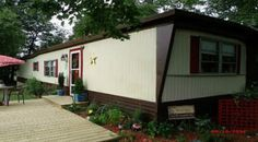 painting your mobile home siding