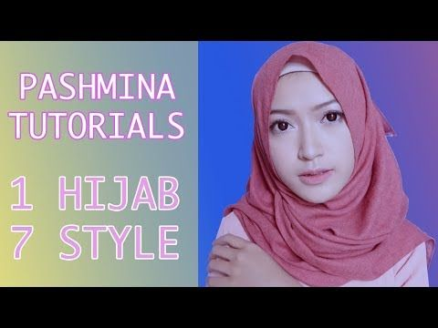Easy Wearing Pashmina Hijab 7 Style In One Pahmina #Easy Hijab Tutorials - YouTube