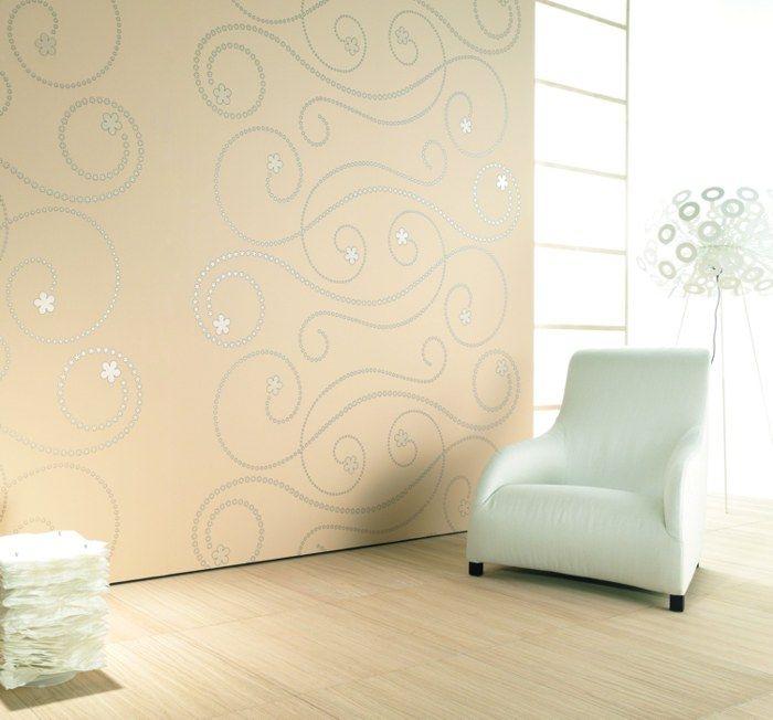 114 besten wandgestaltung bilder auf pinterest - Designer Tapeten Raumbilder