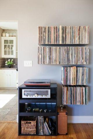 record storage so chic.