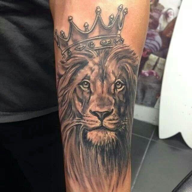 De 25+ Bedste Idéer Inden For Lion Tattoo Design På