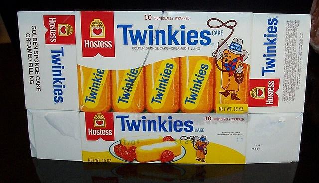 Vintage Twinkies box  ...