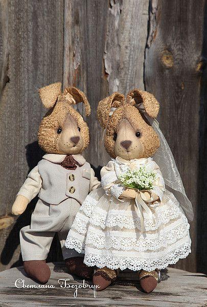 СВАДЕБНЫЕ/wedding - авторские игрушки