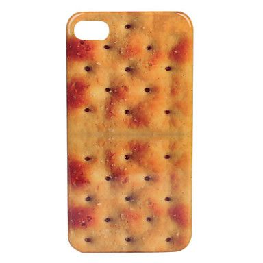 Biscuit Pattern Fashion Design Hard Case for iPhone 4/4S – USD $ 2.49