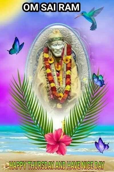 Sharechat Thursday Sai Ram Sai Baba Photos