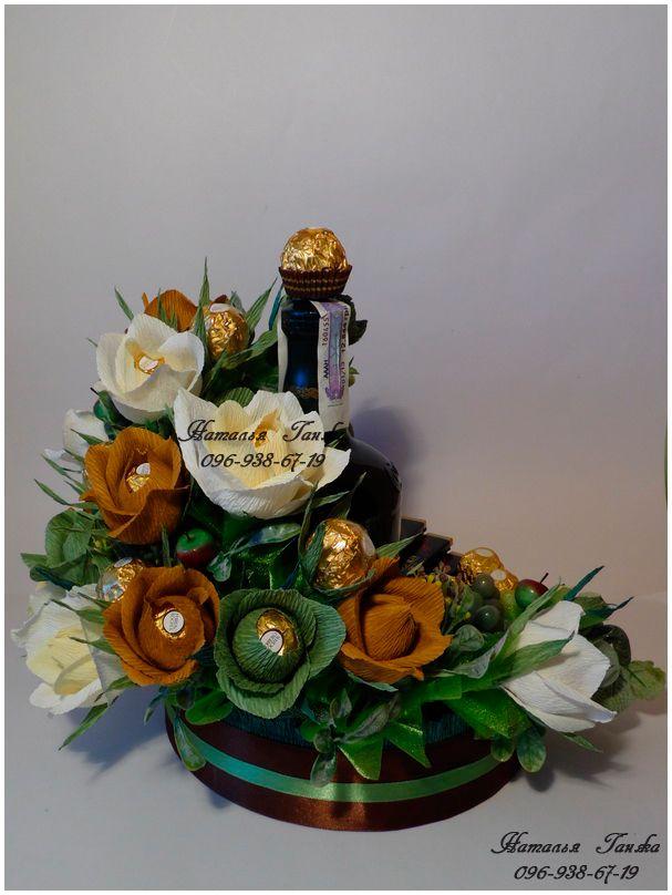 Букеты и композиции из конфет в Киеве » Blog Archive » Композиция из конфет «Сон в летнюю ночь»