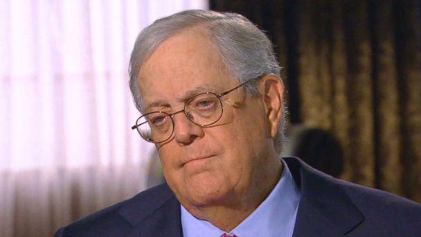 Billionaire David Koch Says He's a Social Liberal - ABC News