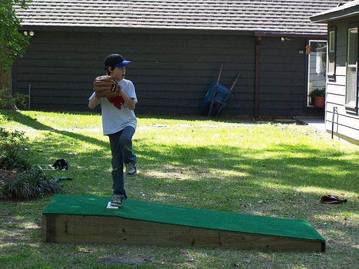 BUILD A PORTABLE PITCHING MOUND Summer 2013 Pinterest