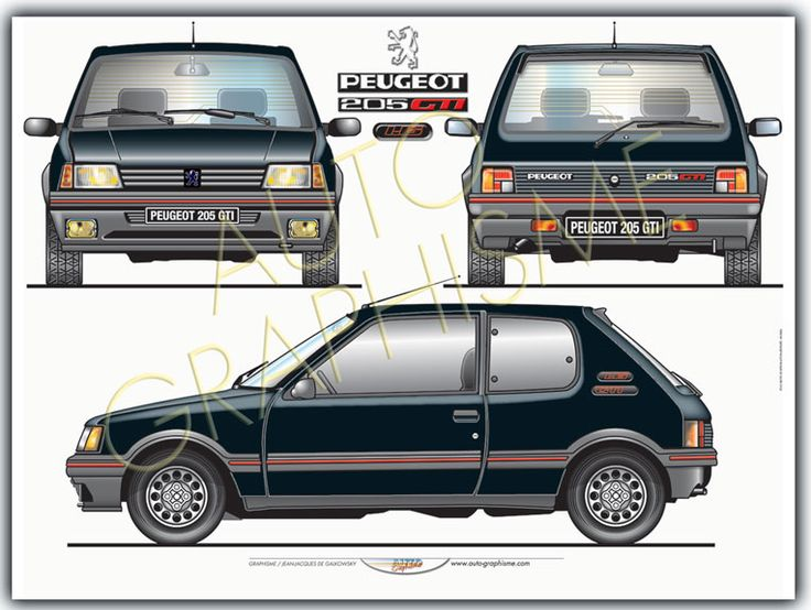 Peugeot 205 Gti 1l6