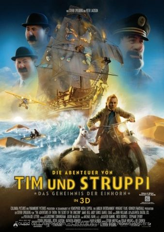 New Movie Poster Die Abenteuer von Tim und Struppi See the full and large #MoviePoster on #CAFMP - The Central Archive for Movie Posters