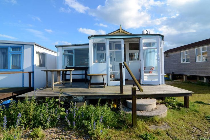 Chalet in Seasalter, United Kingdom. 1 bedroom chalet directly on the beach in front of a Michelin starred pub. The property has stunning sea views and is cosy in both the summer and winter months.  The charming seaside town of Whitstable is located in the Northeast of Kent. The town...