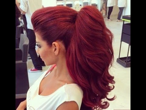Easy Hairstyles For Long Thick Hair Mohawk Ponytail Hair