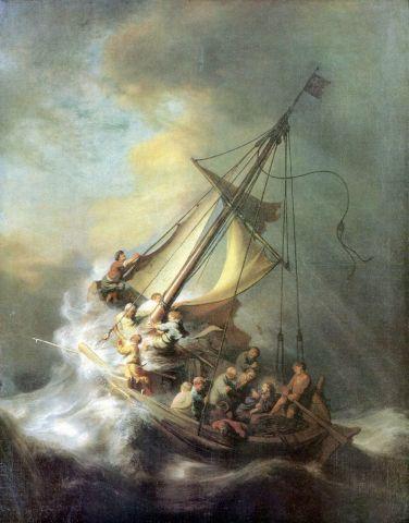 KPIX | Cristo nella tempesta sul mare di Galilea