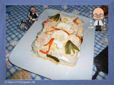 Cocina con Paco: Pastel de pan de molde
