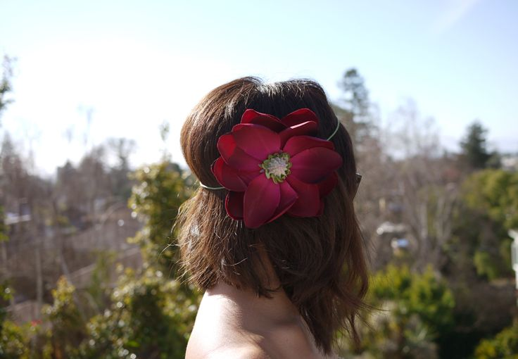 DIY Flower Halo/headbandHair Piece, Flower Headbands, Flowerhalo, Diy Headbands, Hair Accessories, Diy Flower, Flower Girls, Hippie Flower, Flower Halo