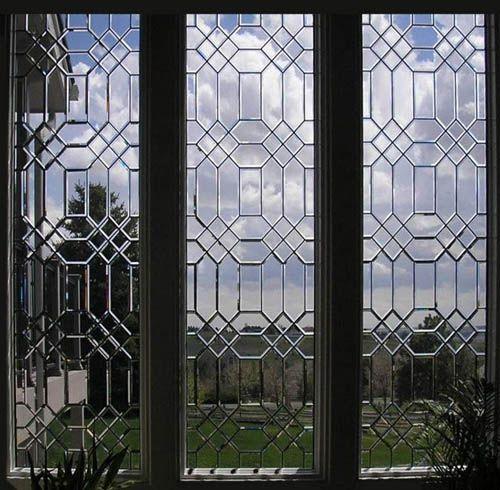 Rectangular Beveled Glass Window Wow Interiors Bathrooms Pinterest
